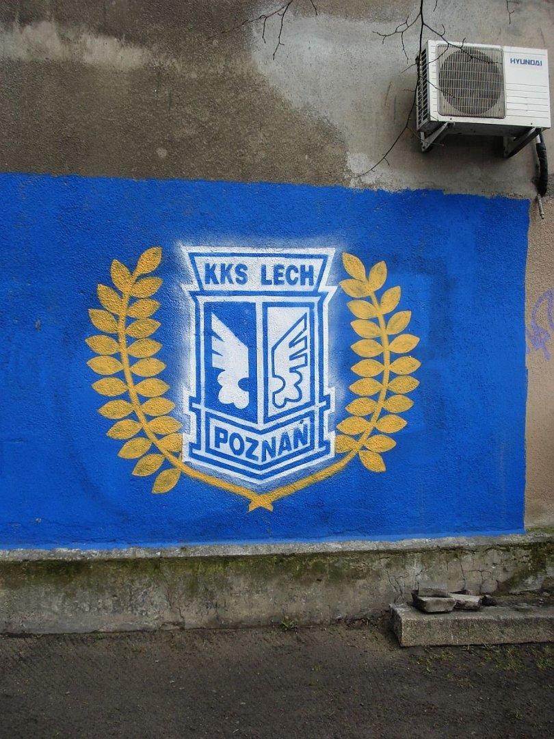 Graffiti Lech Poznań Nowy Malunek Na Jeżycach Jak Wam Się Podoba