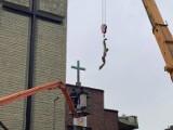 Chrystus wrócił na krzyż w Goleniowie. Renowacja figury zakończona