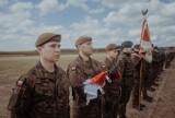 Przysięga wojskowa WOT na głogowski sztandar. Jesienią ruszy batalion w naszym powiecie. ZDJĘCIA