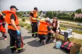 Strażacy ćwiczyli na Jeziorze Nyskim na wypadek powodzi