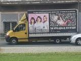 Obywatelskie zatrzymanie antyaborcyjnej furgonetki przy ul. Grunwaldzkiej