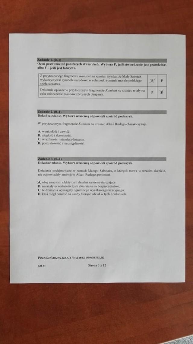 Egzamin gimnazjalny 2019 z j. polskiego: ODPOWIEDZI i ARKUSZE CKE