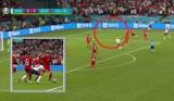Euro 2020. Nie milkną echa skandalu. Sędzia powinien przerwać grę przez dwie piłki na boisku?