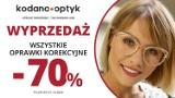 70% rabatu na WSZYSTKIE oprawki w KODANO Optyk!