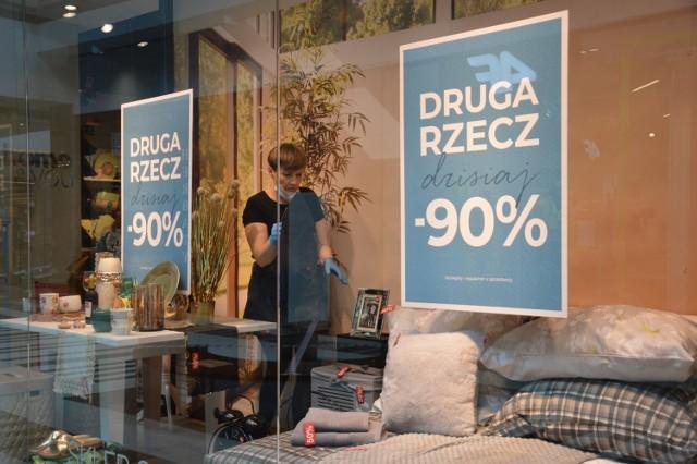 Galeria Focus Mall w Piotrkowie w sobotę, 16 maja 2020