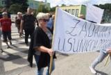 Ich domy drżą, elewacje pękają. Dlatego wyszli na protest! Mieszkańcy Zielonej Góry domagają się modernizacji drogi