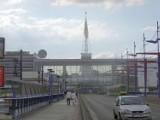 MTP Poznań - Trwa remont kultowej iglicy [ZOBACZ ZDJĘCIA]