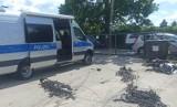 Polsko-niemiecka akcja policjantów w Osielsku pod Bydgoszczą. Zatrzymano pasera elektroniki z aut [zdjęcia]