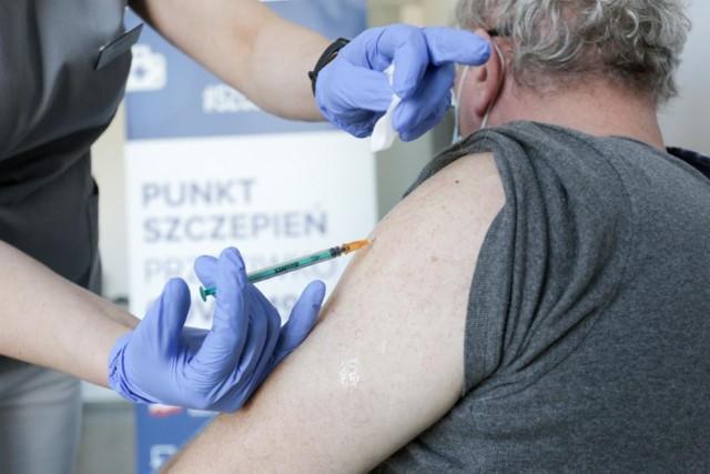 1 maja w Krakowie rusza punkt szczepień w Miejskim Centrum Opieki