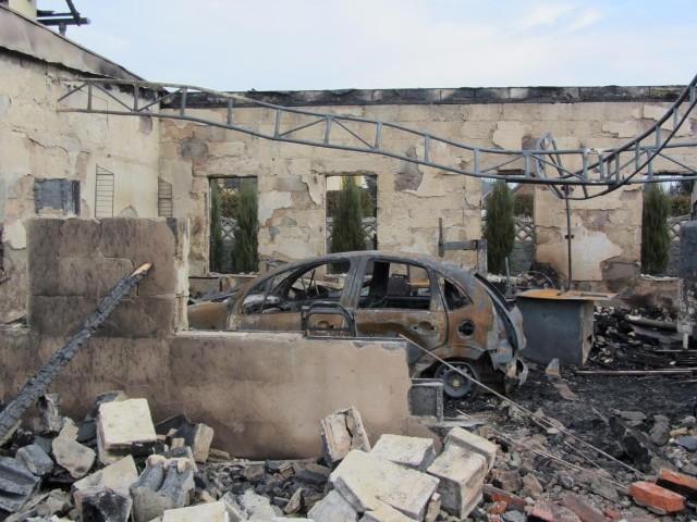 Krajobraz po tragedii w Jankowie Przygodzkim