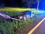 Hanuszów: pijany kierowca spowodował wypadek. Jemu nic się nie stało, ale dwie osoby zostały ranne
