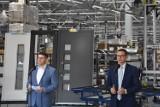 """Eko-Okna: premier Mateusz Morawiecki odwiedził największą firmę raciborszczyzny. Mówił o """"Polskim Ładzie"""". """"To program dla przedsiębiorców"""""""