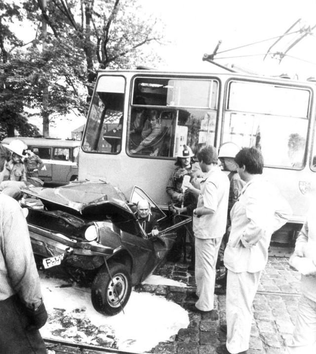Wypadek we Wrocławiu, 1985 rok