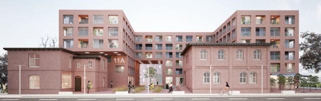 80 mieszkań wraz z częścią usługową o powierzchni 900 m2 powstanie przy ulicy Hallera w Rybniku