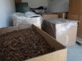 Policjanci z Pilzna zlikwidowali nielegalną wytwórnię tytoniu w Lipinach