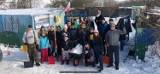 Członkowie Przemyskiej Grupy Rowerowej i Przemyskie Morsy odśnieżali schronisko dla zwierząt w Orzechowcach koło Przemyśla [ZDJĘCIA]