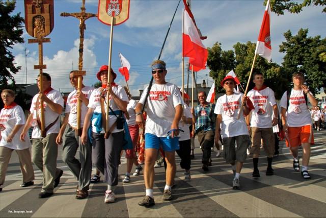 400 Sieradzka Pielgrzymka w 2010 roku