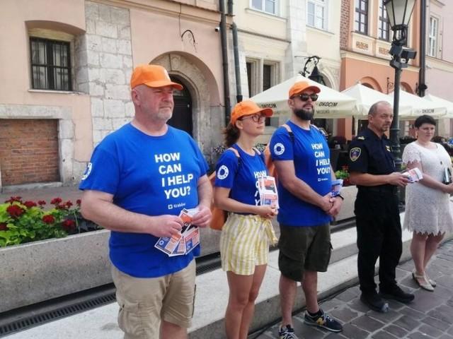 12 specjalnie przeszkolonych City Helpersów ma działać w Krakowie przez lipiec i sierpień