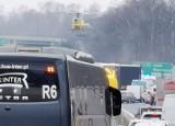 Mysłowice: Wypadek na autostradzie A4. Są ciężko ranni. TIR roztrzaskał auto osobowe