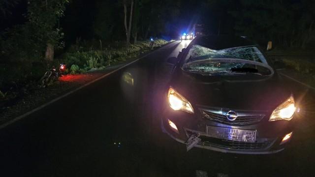 Wypadek na DK 91 koło Radomska. Śmiertelne potrącenie 17-letniego rowerzysty