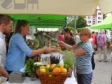 Bytom : Ekojamark na pl. Sobieskiego. Zdrowa żywność bez konserwantów