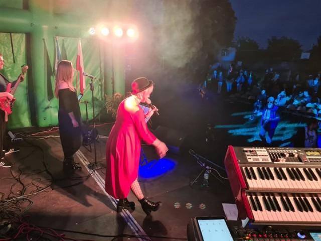 Koncert zespołu The Presja podczas dożynek w Rzgowie