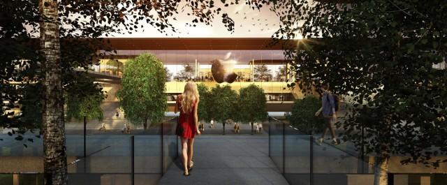 Nowy pomysł na Plac Defilad. Pawilony pod Pałacem Kultury. Ambitny projekt młodego architekta [WIZUALIZACJE]