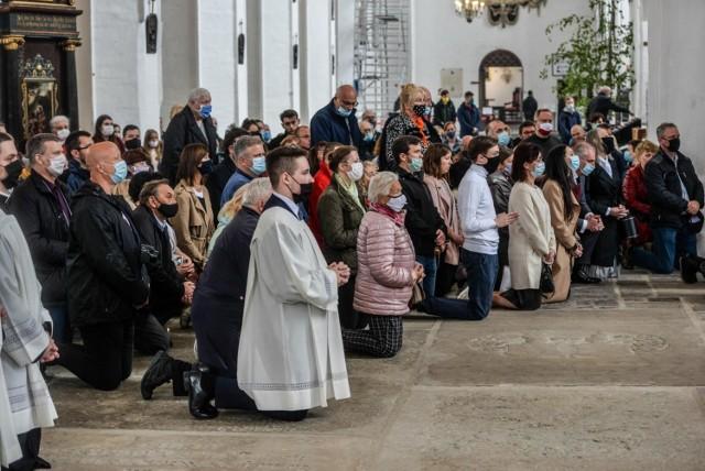 Boże Ciało 11.06.2020 w Bazylice Mariackiej