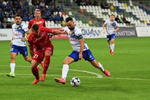 Kamil Biliński poprowadził Podbeskidzie do zwycięstwa nad beniaminkiem