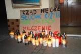 Spacer w ramach Strajku Kobiet we Wschowie. Wczorajsza inicjatywa nie spotkała się z tak duży odzewem jak w październiku