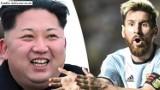 Korea Północna chce mieć takich piłkarzy jak Messi i wieść prym na świecie