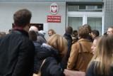 Ewakuacja budynku Politechniki Wrocławskiej przy Norwida [ZDJĘCIA]
