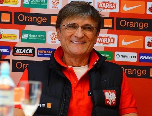 Reprezentacja Polski: Adam Nawałka w piątek zadebiutuje w meczu ze Słowacją