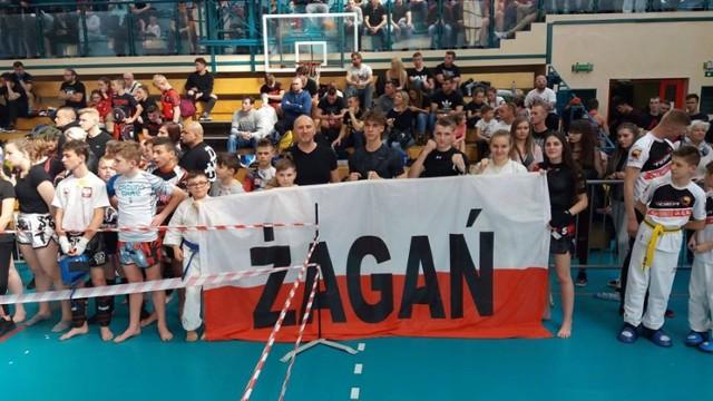 Żagańscy zawodnicy zdobyi 10 medali