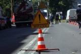 Wypadek z udziałem ciężarówki pod Żninem. Kobieta w ciąży trafiła do szpitala