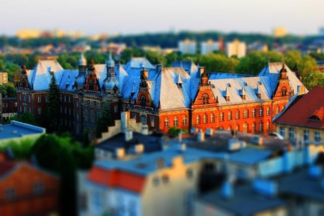 Bydgoszcz z lotu ptaka robi duże wrażenie.