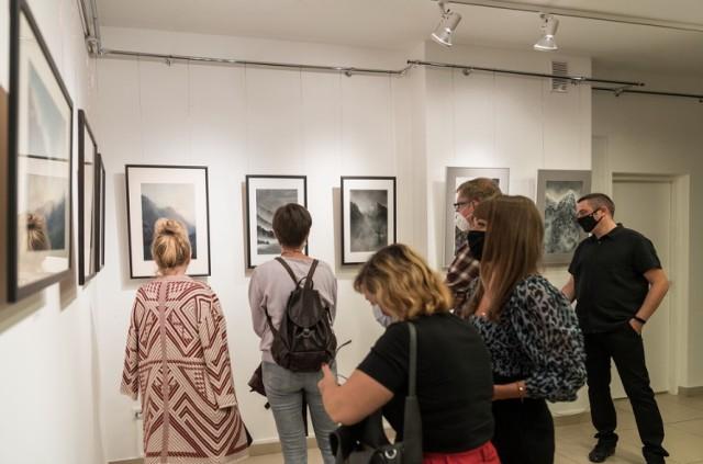 Wystawa Longina Majchrzaka w CKiS Konin