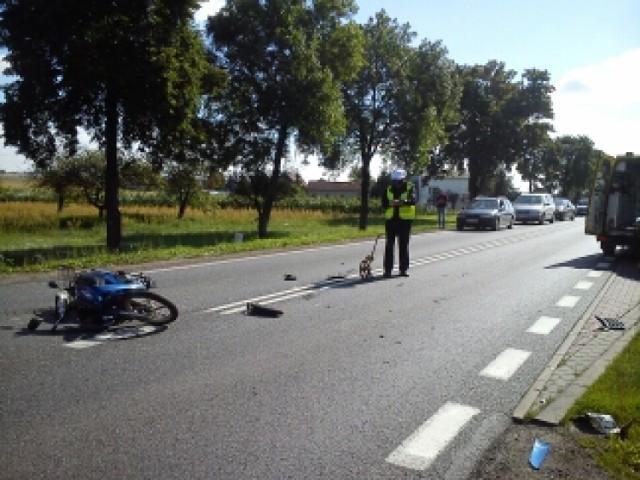 Wypadek w Józefowie koło Opatówka