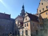 Teren oleśnickiego zamku monitorowany