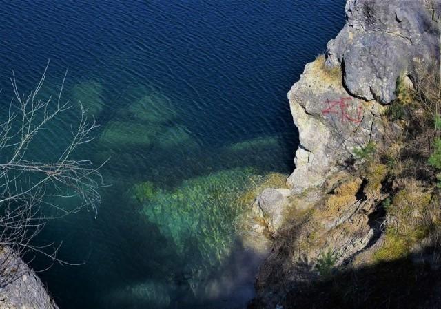 Kamieniołom w Piechcinie