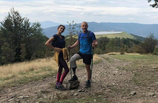 Bartłomiej Bertolin stracił nogę w wypadku na kopalni. Trzy miesiące później już w protezie zdobył górski szczyt.