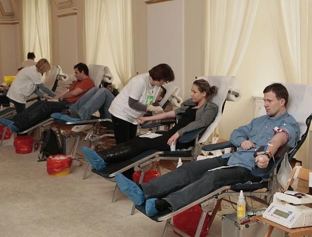 W dotychczasowych czterech zbiórkach krwi wzięło udział 700 osób