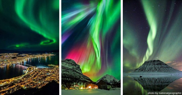 Zorza polarna, nazywana też Aurora borealis (na półkuli południowej Aurora australis) to fascynujące zjawisko świetlne, od wieków budzące w ludziach zabobonną grozę. Zorza polarna świeci w górnych warstwach atmosfery w rejonie biegunów magnetycznych Ziemi. Dlatego zorze polarne występują na dużych szerokościach geograficznych. Zjawisko zorzy polarnej wywołują naładowane cząstki o dużej energii, wyrzucone ze Słońca podczas rozbłysków i docierające do Ziemi. Silne rozbłyski słoneczne sprawiają, że zorza polarna może być obserwowana również na średnich szerokościach geograficznych. Dlatego czasami można zobaczyć zorzę polarną w Polsce. Zobaczcie, jak niesamowicie wygląda zorza polarna na zdjęciach.