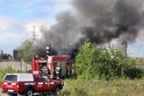 Pożar w Hucie Szopienice w Katowicach. Trwa akcja strażaków [ZDJĘCIA]