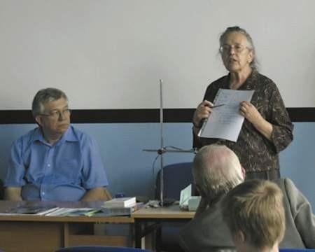 Maria Pańków z Uniwersytetu Śląskiego omówiła najnowsze wyniki badań.