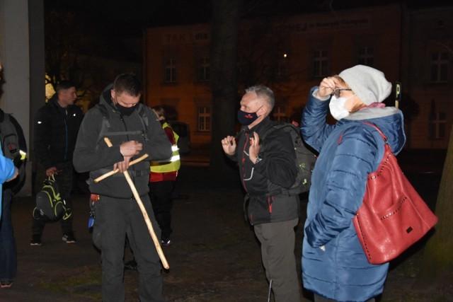 Kilkunastu śmiałków wyruszyło w Ekstremalną Drogę Krzyżową z Nowego Tomyśla.