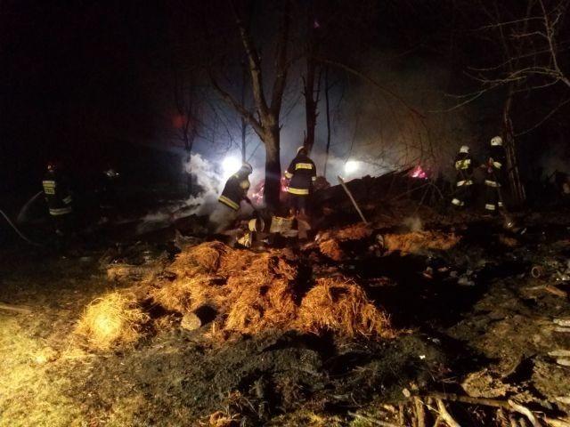 Pożar w Obarzymie