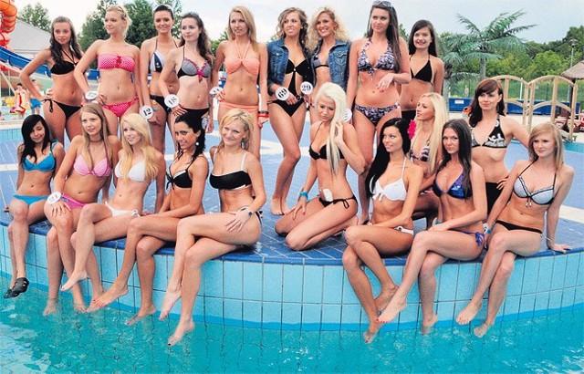 20 pięknych dziewcząt spośród 38 kandydatek zostało wybranych w sobotę do finału konkursu na Miss Fali 2011