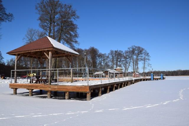 Zimowy Szczecinek urzeka