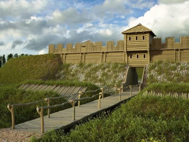 Tak zgodnie z projektem będzie wyglądała rekonstrukcja średniowiecznego grodziska pod Łęczycą